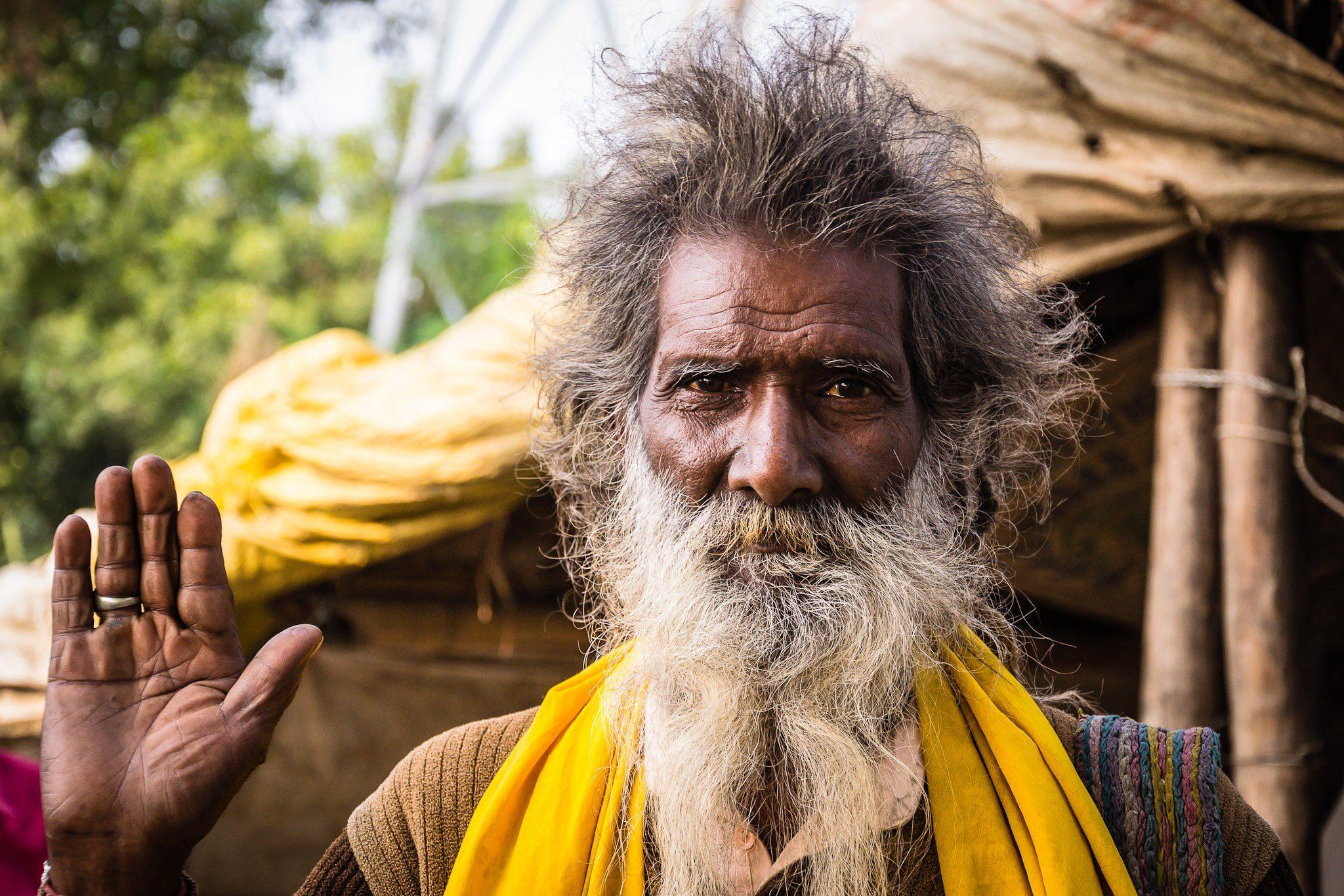 Indischer Sadhu