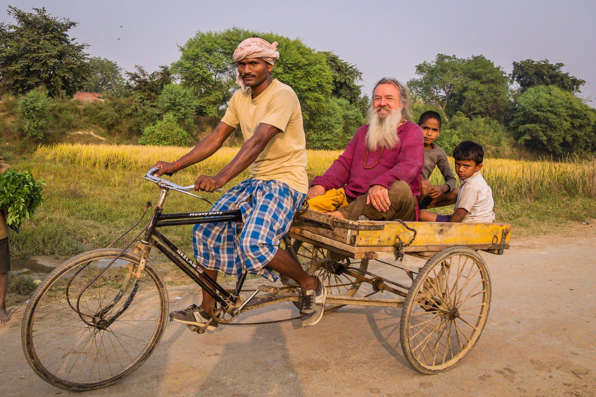 Wolf-Dieter Storl in Indien