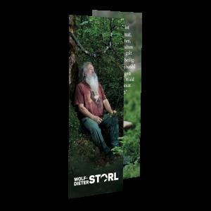 """Lesezeichen """"Wald als Heimat der Seele"""""""