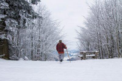 Wolf-Dieter Storl im Winter
