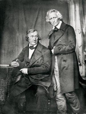 Jacob Grimm (1785–1863) und Wilhelm Grimm (1786–1859)